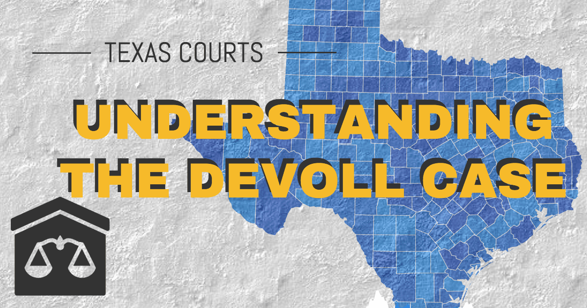 Texas Devoll Case on LLCs